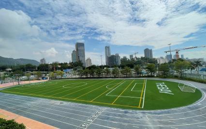 Dự án sân bóng đạt chuẩn FIFA mới tại trường Quốc tế  The Bay Academy